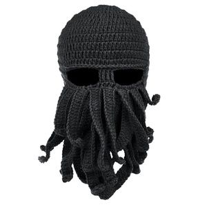 Accessories - Halloween Costume Knit Octopus Facemask